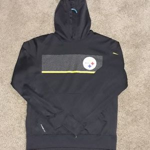 Adult small nike therma fit nfl Steelers hoody